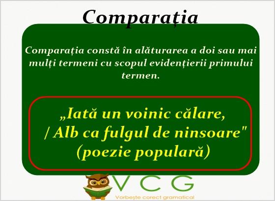 comparatia