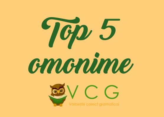 top5 omonime